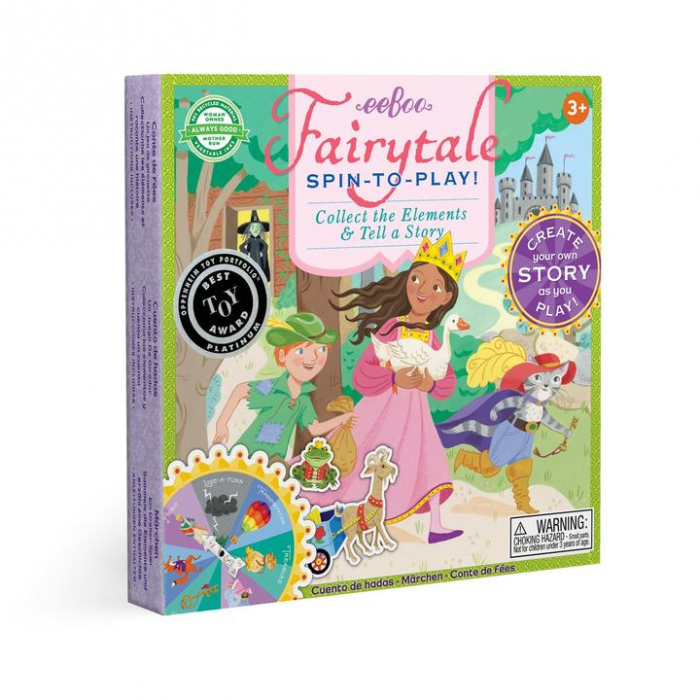Fairytale Spinner Game - Joc educativ cu ruleta pentru dezvoltarea vocabularului si a limbajului 0