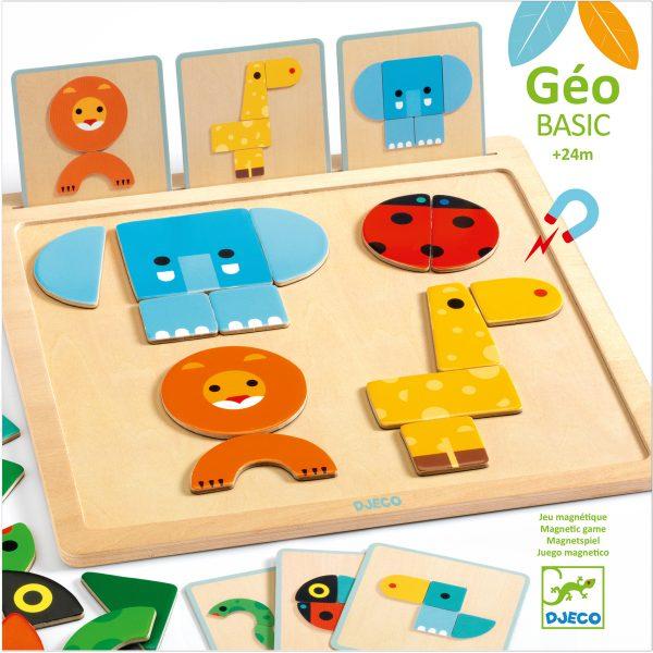 Geo Basic - joc pentru bebe cu forme geometrice [0]