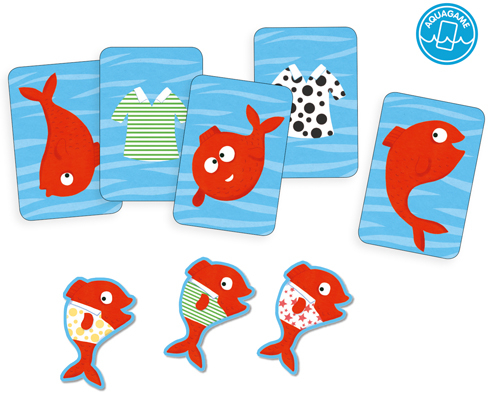 Spidifish - Joc cu carti rezistente la apa 1