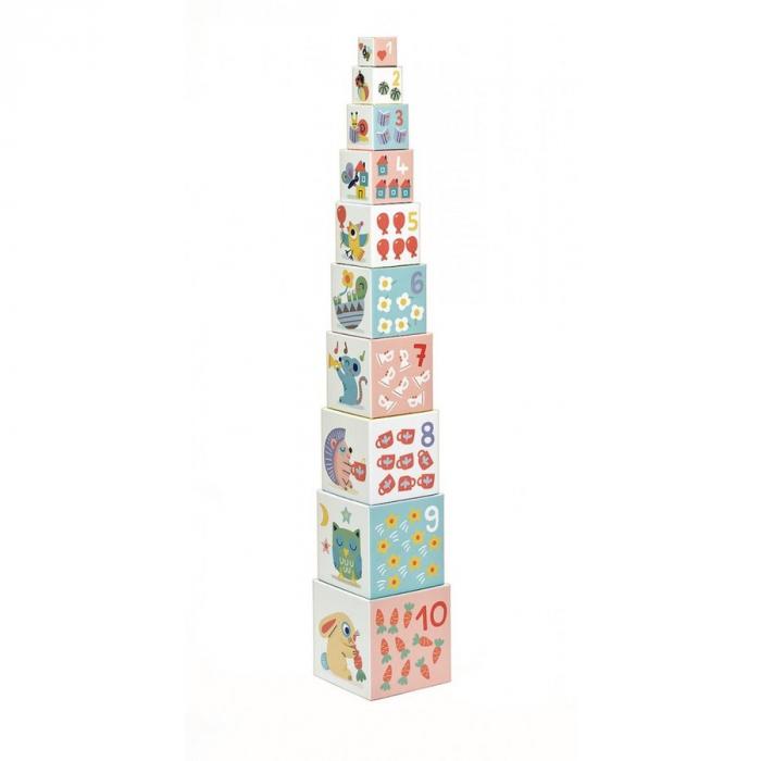 Turn de construit BabyBloki - Joc educativ [3]