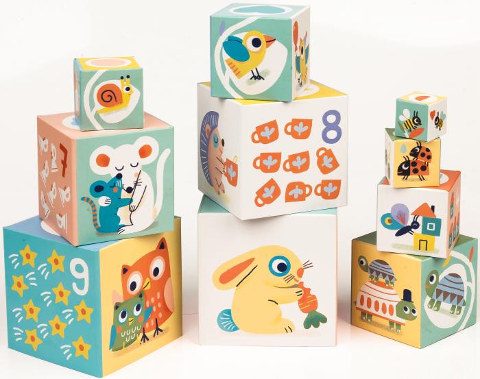 Turn de construit BabyBloki - Joc educativ [2]