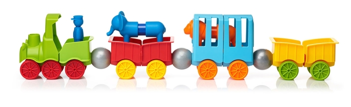 My First Animal Train - Joc magnetic 1