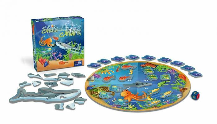 Sheila Shark - Joc de cooperare 1