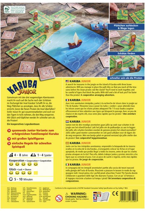 Karuba Junior - Joc de cooperare 3