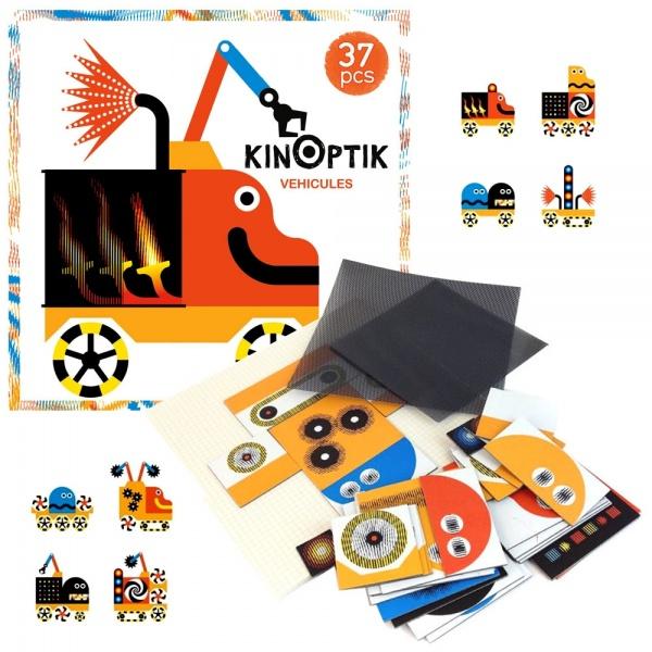 Kinoptik Vehicule - Joc educativ 1