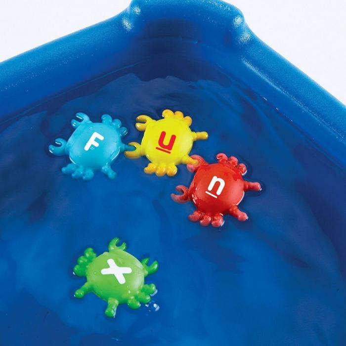 Crabi cu litere - Joc de potrivire 4