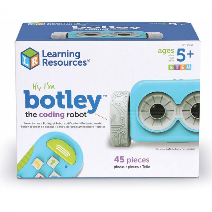 Robotelul Botley in cursa - joc STEM 0