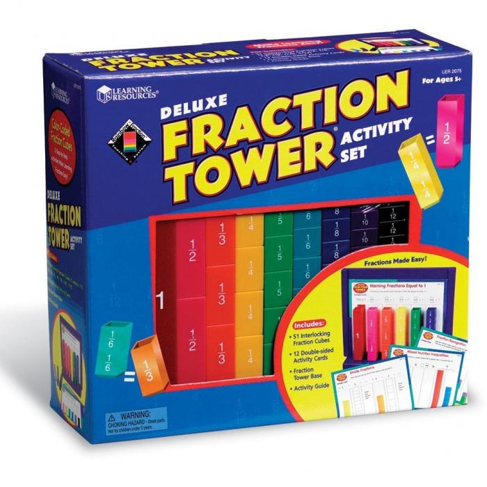 Turnul fractiilor - set activitati 0