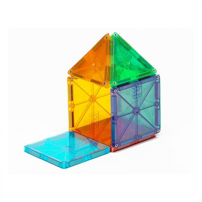 Magna-Tiles Clear Colors set magnetic (32 piese) 3