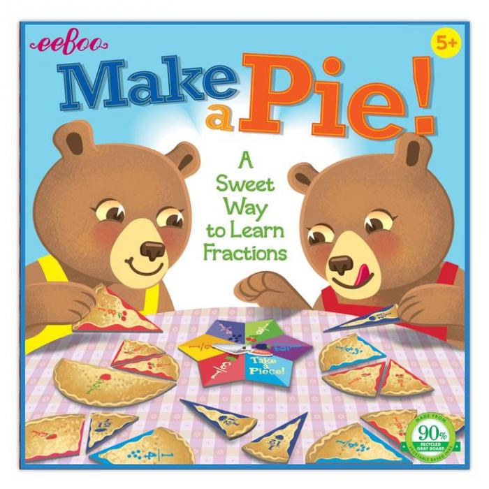 Make a Pie Game - Jocul Fractiilor - Joc educativ cu ruleta de matematica 0