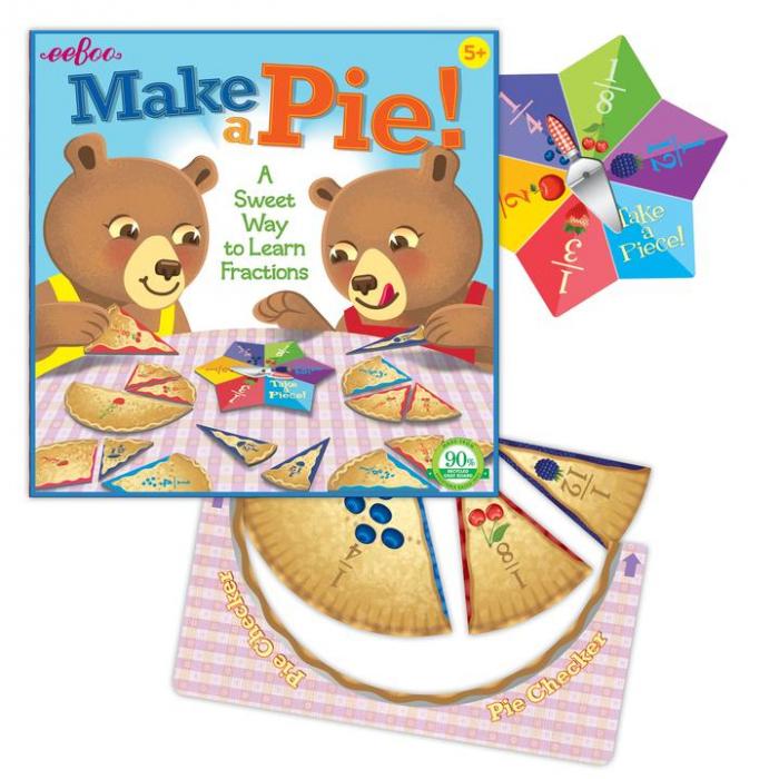 Make a Pie Game - Jocul Fractiilor - Joc educativ cu ruleta de matematica 1