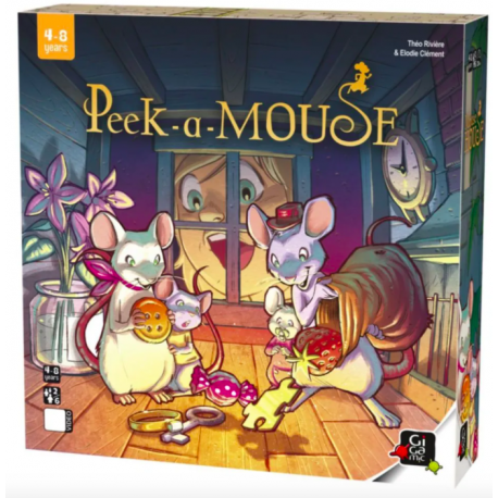 Peek a mouse - Casuta soriceilor [0]