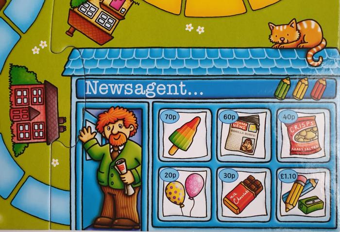 Pop to the shops - Joc educativ 3