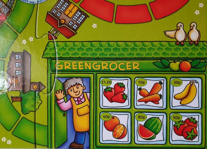 Pop to the shops - Joc educativ 4
