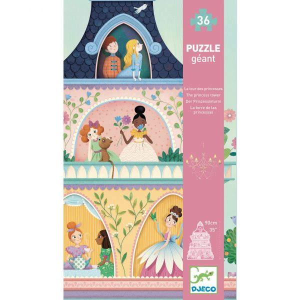 Puzzle gigant - Castelul printeselor [0]