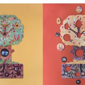 Puzzle reversibil Londji, Copacul meu iubit [3]