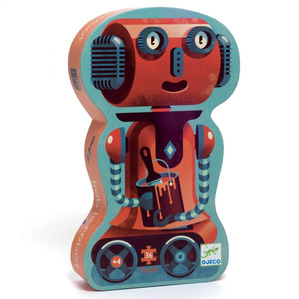 Puzzle – Robotul Bob [0]