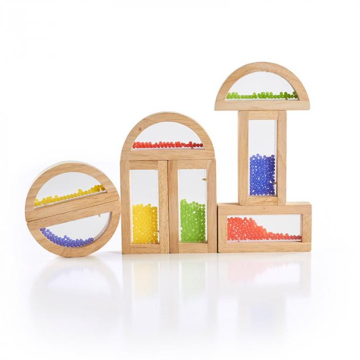 Rainbow Blocks cu margele colorate 1