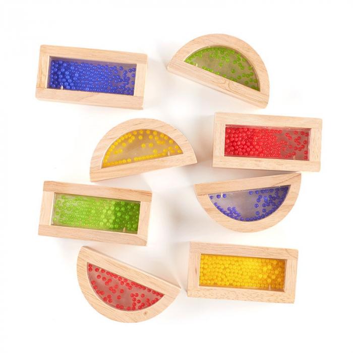Rainbow Blocks cu margele colorate 2