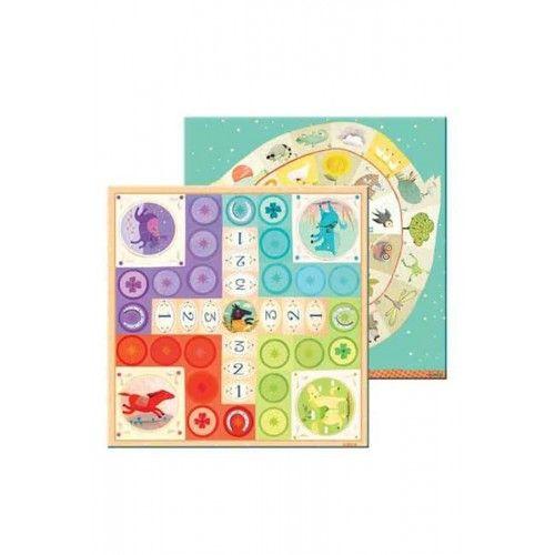 Nomad Ludo & Co Junior - Joc de familie 2 în 1 2