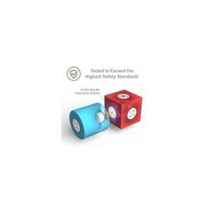 Set cuburi din spuma cu magnet Blockaroo - Robot 10 piese [1]