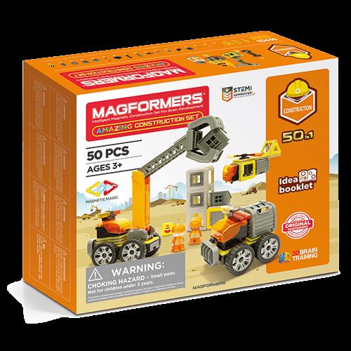 Set magnetic - Uimitorul set de construit pe santier 0
