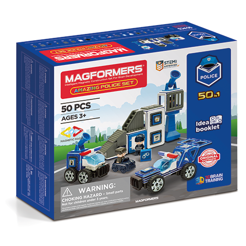 Set magnetic - Uimitorul set de politie 0