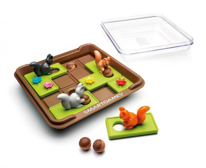 Squirrels Go Nuts - Joc de logică [1]