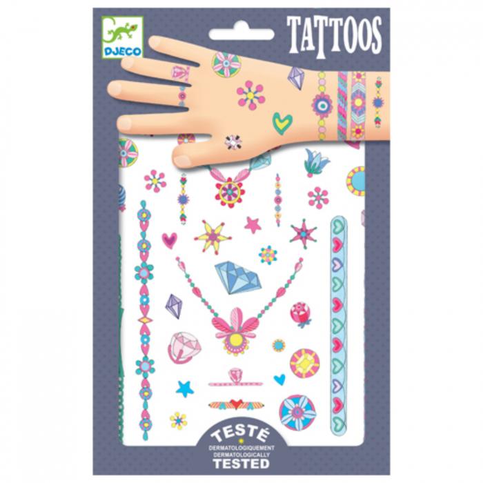 Tatuaje Bijuterii neon 0
