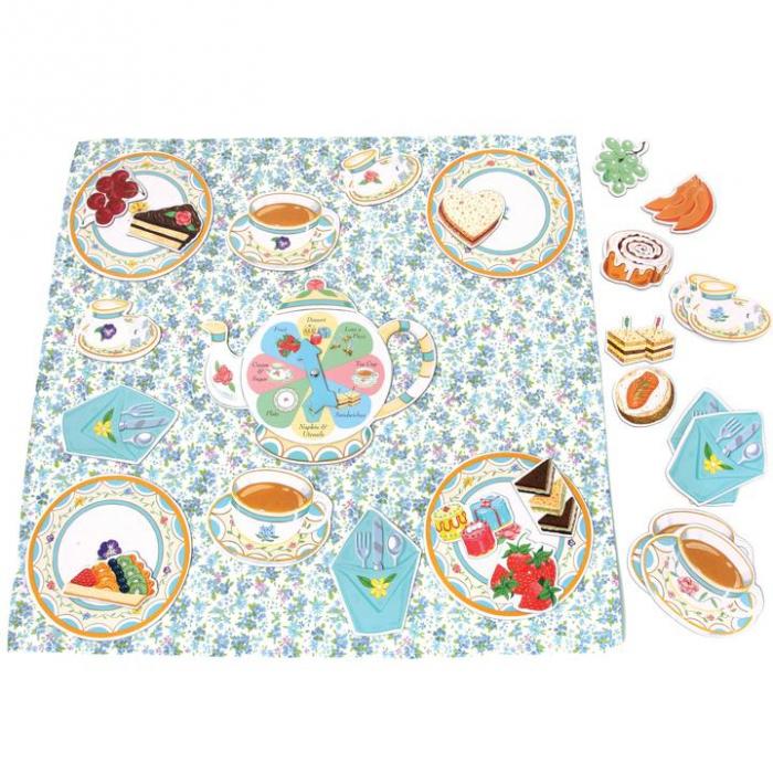 Tea Party Spinner Game - Invitatie la ceai - Joc educativ de rol cu ruleta 3