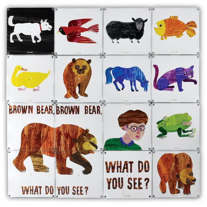 Ursule brun, tu ce vezi? - Eric Carle 4