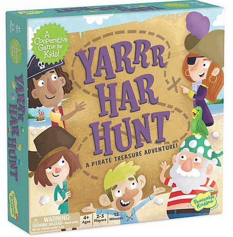 Yarrr-Har-Hunt – Comoara piraților, joc de strategie și cooperare 0