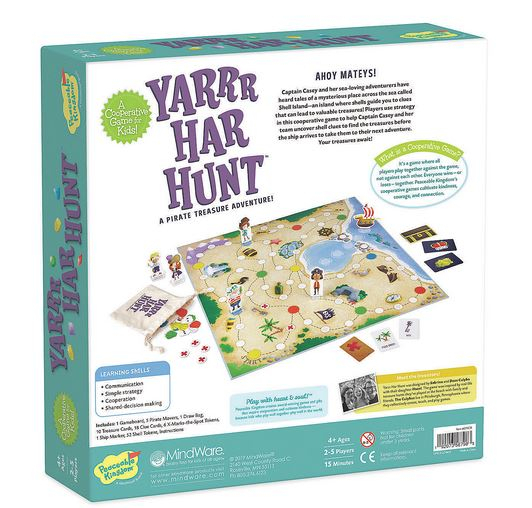 Yarrr-Har-Hunt – Comoara piraților, joc de strategie și cooperare 2
