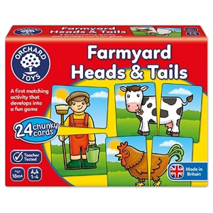 Farmyard heads & tails - Joc educativ asociere0