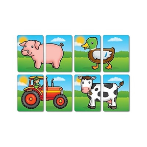 Farmyard heads & tails - Joc educativ asociere2