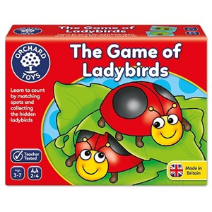 The game of ladybirds - Joc educativ0