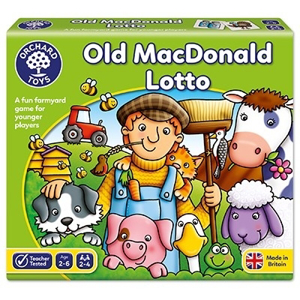 Loto OLD MACDONALD - Joc educativ0