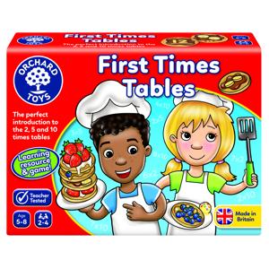 First time tables - Joc educativ0
