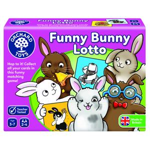 Funny bunny lotto - Joc educativ0