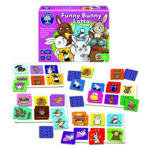 Funny bunny lotto - Joc educativ1