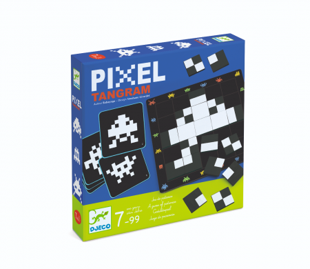 Pixel Tangram - Joc de logica0