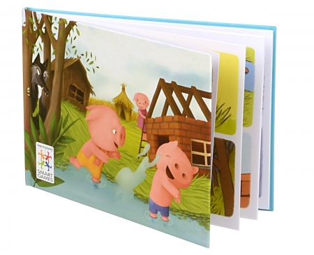 Joc de logică Three Little Piggies - Deluxe3