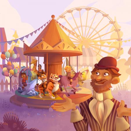Monsieur Carrousel - Joc de cooperare3