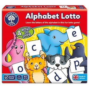 Alphabet lotto - Joc educativ0