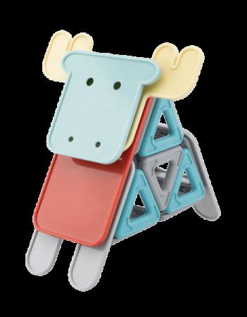 Animale - set magnetic de construit2
