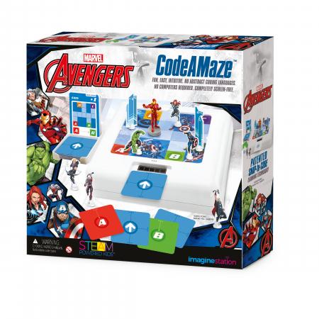 Code A Maze Avengers - Joc de programare [0]