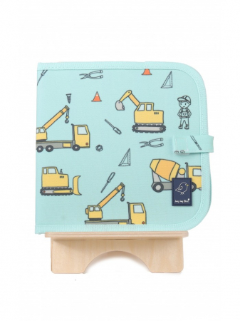 Color It & Go erasable book - Construction site - carte de colorat refolosibila0