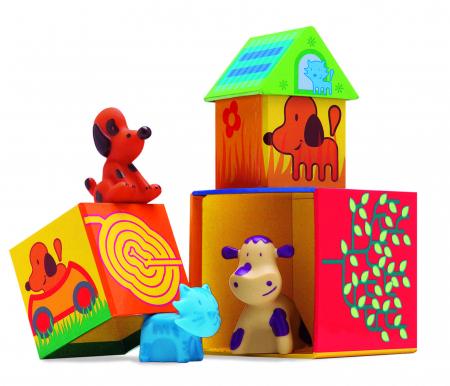 Cuburi de construit cu animale Cubanimo [2]