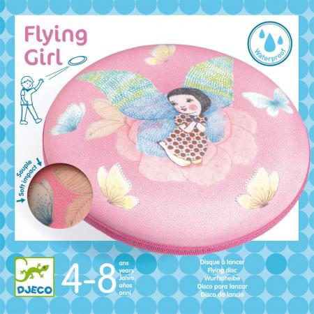 Disc frisbee - zborul zanei [0]