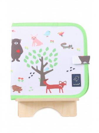 Doodle It & Go erasable book - Forest - Carte refolosibilă pentru desen0